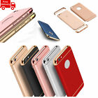 3in1 Electroplated Ulrta Thin Dual Layer Back Case Cover For Apple iPhone Model