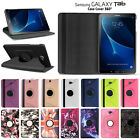 Folding Folio 360 Rotating Stand Flip Leather Case Cover for Samsung Galaxy Tab