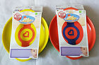 Munchkin 2 White Hot Plates Set 6 Mths + New Bpa Free (Assorted Colours)