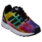 Infant Girls adidas Originals Zx Flux El I Trainers In Black From Get The Label