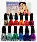 China Glaze Nail Lacquer -SUMMER REIGN Collection 2017 - Choose Any Color