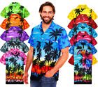 Funky Hawaiihemd Beach Hawaiian Shirt Multi Kurzarm Front-Tasche