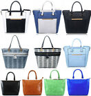 Large Size Tote Bags For Women Quality Faux Leather Shoulder Handbags A4 School