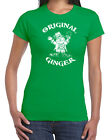 270 Original Ginger womens T-shirt funny St. Patrick's Day drunk beer clover new