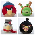 ONE Hartz Christmas Angry Birds Squeak Dog Toy -  4-1/2 inches wide