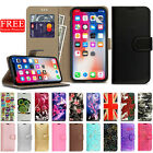For APPLE iPhone 5s SE 6s 7 Plus Leather Flip Wallet Magnetic Case Cover