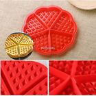 New Silicone Round Square Waffles Mould Muffin Pans Baking Cake Tray HQ