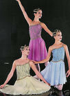 Ladanse Lyrical Dance Dress Ballet Costume CLEARANCE! Adult XL & Child S