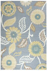Rizzy Rugs Gray Petals Leaves Vines Bulbs Contemporary Area Rug Floral AH050A