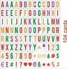 More Extra Letters Numbers Symbols Emicons For A4 / A5 Cinematic LED Lamp Box US