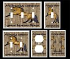 HORSE HOME IS WHERE YOUR HORSE LIVES  LIGHT SWITCH COVER PLATE