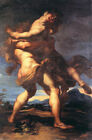 Neoclassical Masterpiece of Greek Mythology: Hercules and Antaeus
