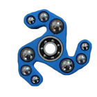 Steel Ball Hand Spinner Fidget Focus Toy EDC Finger Autism TOP Blue/White Seller