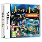 Jewel Link Double Pack Atlantic Quest and Galactic Quest DS Game Brand New