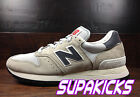 New Balance M995CHA -USA 995 (OFF WHITE/NAVY) Classic (PIG SKIN SUEDE) MENS