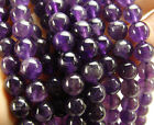 Dark Amethyst Round Gemstone Beads~Guaranteed