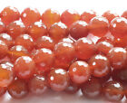 Carnelian Faceted Gemstone Beads~Guaranteed