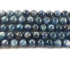 Blue Kyanite Round Gemstone Beads~Guaranteed