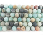 Amazonite Matte Round Gemstone Beads~Guaranteed