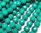 Chinese Turquoise Faceted Gemstone Beads~Guaranteed