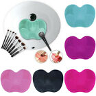 Hot Silicone Makeup Brush Cleaner Pad Washing Scrubber Board Mat Hand Wash Tool