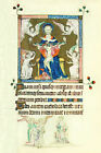 Christian Trinity from Queen Mary's Psalter (Classic Renaissance Art Print)