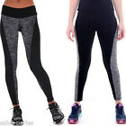 SP Leggings Pantalon Yoga Sport Fitness Élastique Taille Haute Stretch Gym