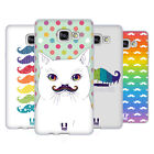 HEAD CASE DESIGNS RAINBOW MOUSTACHE SOFT GEL CASE FOR SAMSUNG GALAXY A7 (2017)