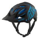 Troy Lee Designs 2017 A1 MIPS Classic Bike Helmet Black/Blue All Sizes