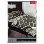 Linens and Lace Moroccan Print Duvet Cover Set Home Sets Accessories