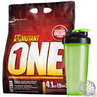 PVL Mutant ONE 4.1kg / 4100g - ALL IN ONE PROTEIN - Mass Gain + Blender Bottle