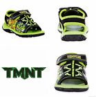 TEENAGE MUTANT NINJA TURTLES Boys Light-Up Sandals Shoes 7 8 9 10 11 or 12 $36