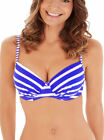 Lepel Riviera 1600600 Underwired Moulded Plunge Balconette Bikini Top Swimwear
