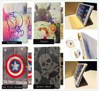 "Skull/Sheild/Doraemon/Totoro Design Stand Case Cover For Apple 7.9"" 9.7"" Device"