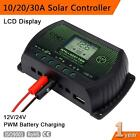 PWM LCD Solar Panel Battery Controller Charge Regulator 12V 24V Auto With USB #4