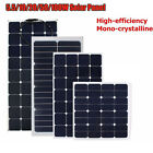 5.5W To 100W 12V 18V Mono Flexible Ultrathin Solar Panel Battery Charger