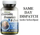 Lifeplan Quercetin, Bromelain & Zinc 90 Caps Prostate help for Men Buy 4 at £48.
