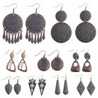 Kyпить Women Bohemia Boho Irregular pattern Plated Red Copper Alloy Dangle Earrings   на еВаy.соm