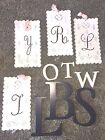 POTTERY BARN KIDS WOOD OR TIN RIBBON WALL LETTERS - YOU PICK!