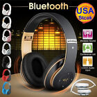 Hot Sport Foldable Wireless Bluetooth 4.1 Headphone Headset With Mic AUX TF Card