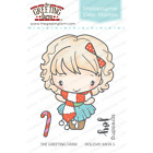 HOLIDAY ANYA 5 STAMPS & DIES-The Greeting Farm-Stamping Craft-Photopolymer/Clear