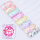 Mermaid Glitter Sequins Semi-transparent Colorful Nail Flakes 1.5g BORN PRETTY