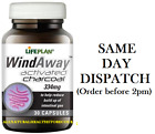 Lifeplan WindAway Activated Charcoal 334mg 30 Caps, Buy 4 at £20.....!
