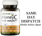 Lifeplan Honey C for Immunity 60 Caps, Manuka Honey16+ Vit.C & Zinc Buy 4 at £28