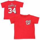 Washington Nationals Majestic Infant Player Name And Number T-Shirt - Red
