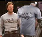 US SHIP!Movie Guardians Of The Galaxy Vol 2 Star-Lord T-Shirt Men Short Sleeve