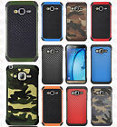 For Samsung Galaxy Sky Rubber IMPACT TRI HYBRID Case Skin Phone Cover Accessory
