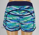 NEW LULULEMON Tracker Short 4 6 8 10 12 Seven Wonders Hero Blue NWT FREE SHIP