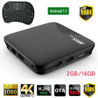M8S PRO DDR4 Android 7.1 Octa Core S912 TV BOX 4K Movies 2/3GB+16GB + keyboard