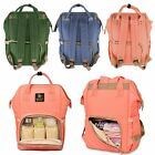 Fashion Multifunctional Baby Diaper Nappy Changing Mother Mummy bag Backpack
